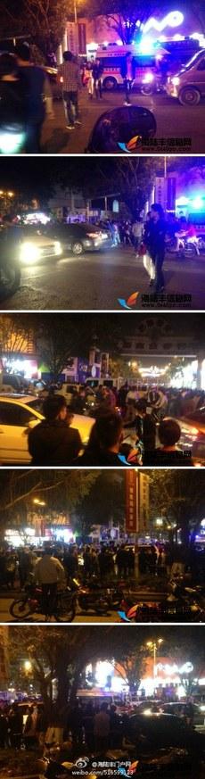 广东省佛山市当局星期二出动三百城管、警察驱逐摊贩时引发冲突,多名摊贩被打伤,近千人围观。事后被打小贩集体到政府讨说法,遭到镇压,有十余人被抓捕。(新浪微博)