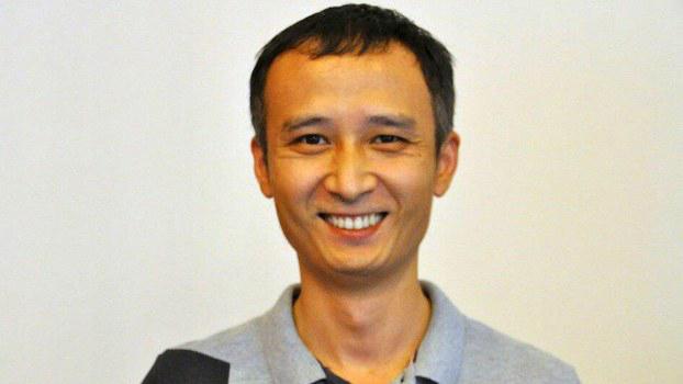 """中国民间公益组织""""长沙富能""""创办人之一程渊(志愿者提供/记者乔龙)"""