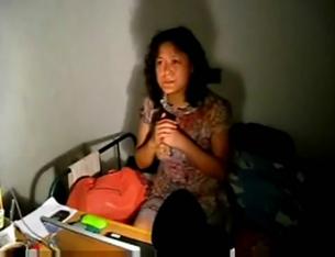 图片:刘沙沙对外界公布被绑架虐待细节  (刘沙沙提供/记者心语)