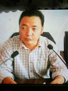 图片:下令向藏人开枪的道孚县官员泽仁诺布。(受访人提供)
