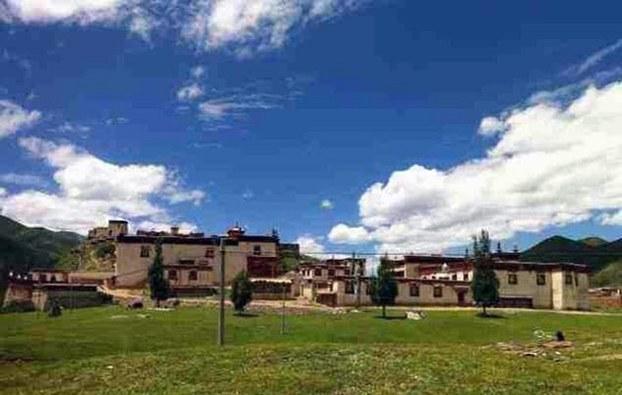 图片:西藏那曲地区比如县比如镇仲那寺。(受访人提供)