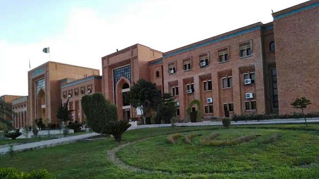 巴基斯坦国际伊斯兰大学(记者柳泉摄)