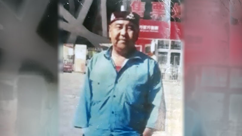"""被以""""宣言极端主义罪"""",木尔赞.巴合提汗被判囚14年。(志愿者提供/记者乔龙)"""