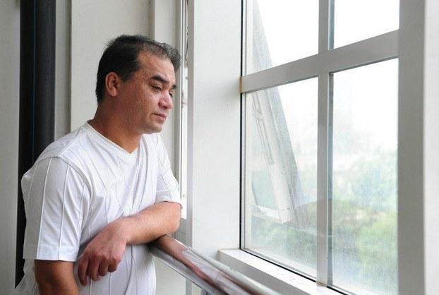 图片:前中央民族大学副教授伊力哈木•土赫提(法新社)