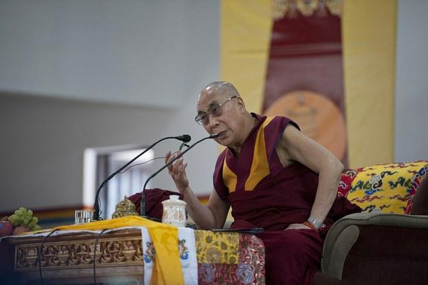 达赖喇嘛。(达赖喇嘛网站)