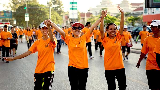 """世界各地在每年11月25日的""""制止暴力侵害妇女国际日""""举办活动(联合国官网)"""