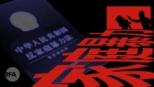 消除对妇女的暴力 中国任重而道远(自由亚洲电台制图)