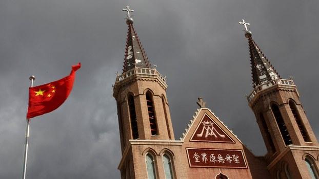 中国拟收紧涉外宗教条例(法新社资料图片)