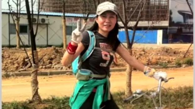 被中国判刑八年的加拿大商人孙茜(视频截图)
