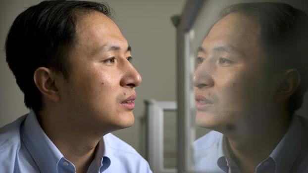 被判三年徒刑的中国深圳南方科技大学生物系副教授贺建奎(美联社)