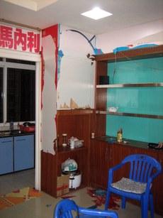 图片:江门丰乐教会物品被警方一扫而光。(教会提供)