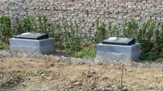 瑞华会传教士在解州镇的墓地(寒冬网)