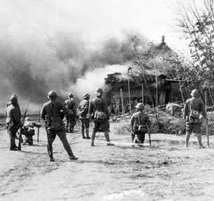 图片:日军侵华 (资料图片)
