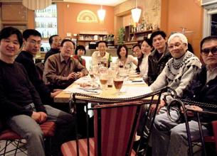 图片:加拿大多伦多茉莉花研讨餐叙。(特约记者锡红提供)