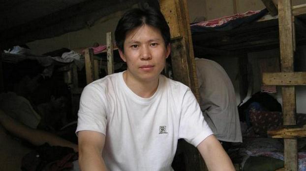 中国新公民运动发起人许志永 (法新社)