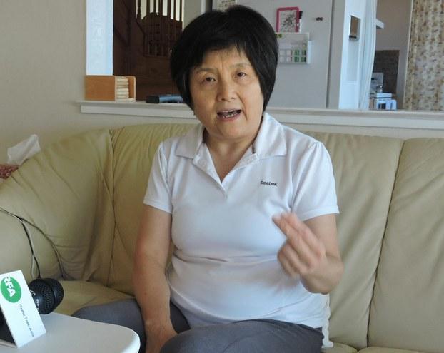 李南央谈北京法院庭审张玉珍索要《李锐日记》案。(资料图/RFA)