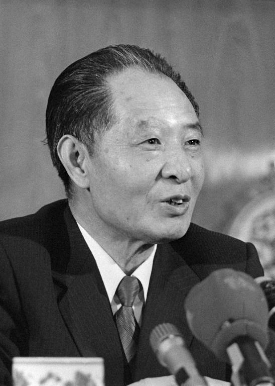 图片: 前中共总书记胡耀邦。 (法新社资料图片)