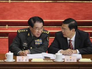 资料图片:2012年3月5日,徐才厚出席全国人民代表大会。(法新社)