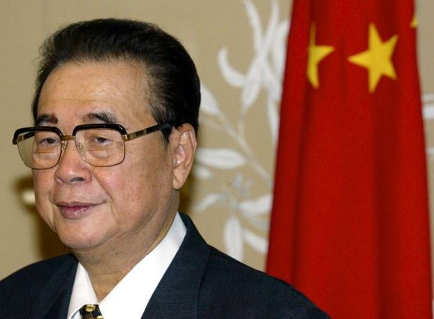 前国务院总理李鹏去世,享年91岁。(资料图/路透社)