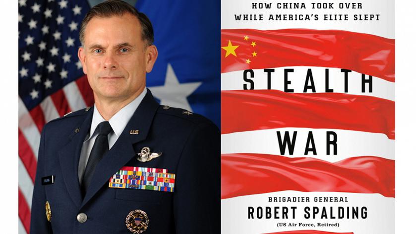 美国前白宫国家安全委员会高级主任罗伯特·史帕丁准将(Brigadier General Robert Spalding III )最近出版新书《隐蔽的战争:中国如何在美国精英熟睡时进行赶超?》,详细分析了中国对美国构成的威胁。(Public Domain)