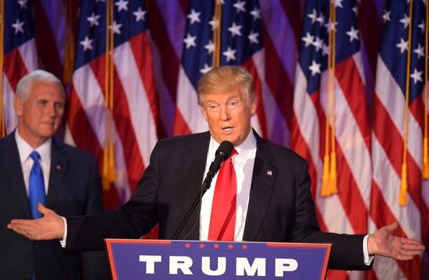 特朗普赢得美国大选(法新社)