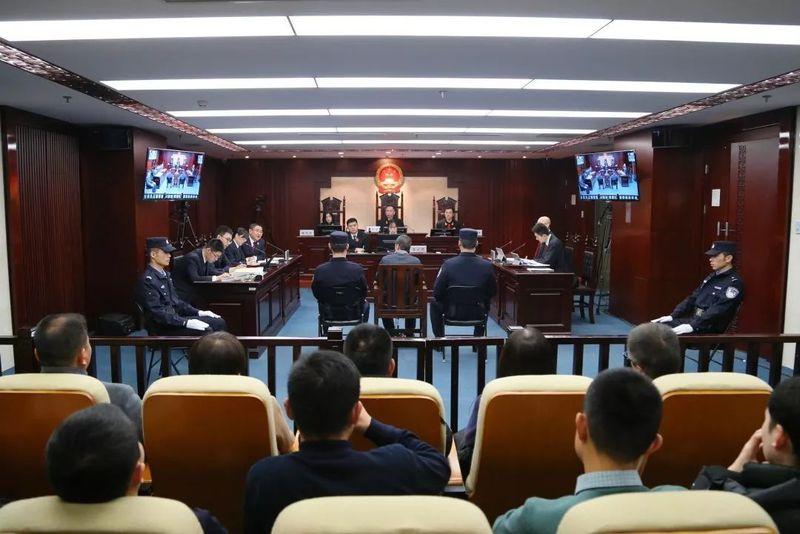 凶手孙文斌被判死刑。(视频截图)
