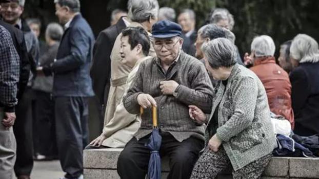中国的老年人(Public Domain)