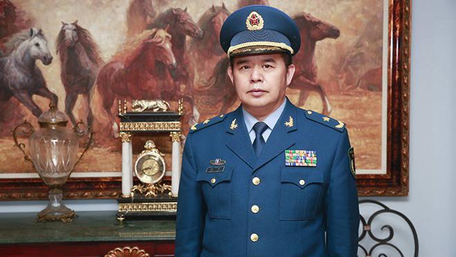 中国空军少将、原国防大学教授乔良。(Public Domain)