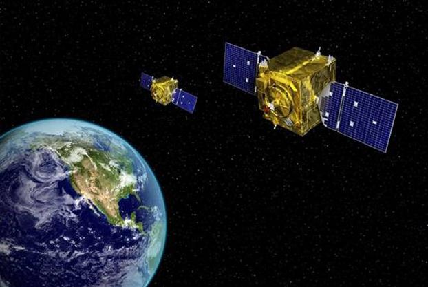 日本将和美国加强太空监视合作。图为日本计划在自己的卫星装载美国先进的侦测传感器,以强化监控能力。(Breaking Defense)