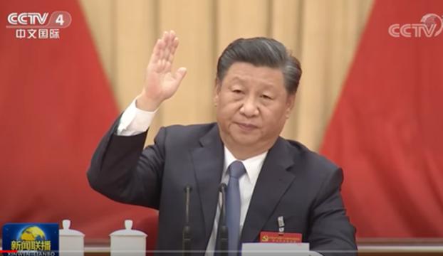 习近平在第十九届五中全会提出,确保2027年实现建军百年奋斗目标。(视频截图)