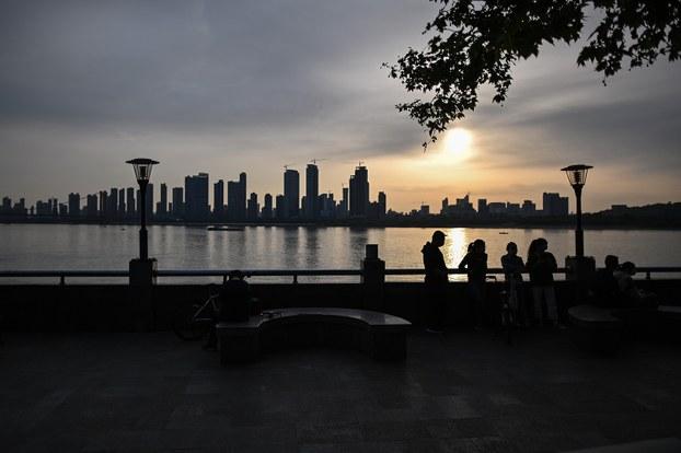 长江流域涵蓋中国五分之一土地,抗生素污染风险突出,威胁环境生态和人类健康。(法新社)