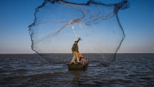 """中国是渔业大国,废弃渔具却是渔业管理的""""漏网之鱼""""。(法新社)"""