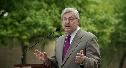 美国前驻华大使泰里·布兰斯塔德。(AFP)