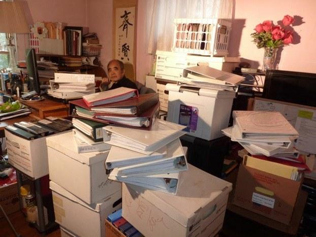 日有定课:编写目录索引和抄录资料卡片(刘晓笛先生提供)