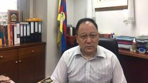 台湾达赖喇嘛西藏宗教基金会董事长达瓦才仁。(本台资料图片)