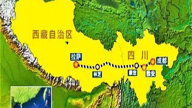 中国开建第二条入藏铁路。(Public Domain)
