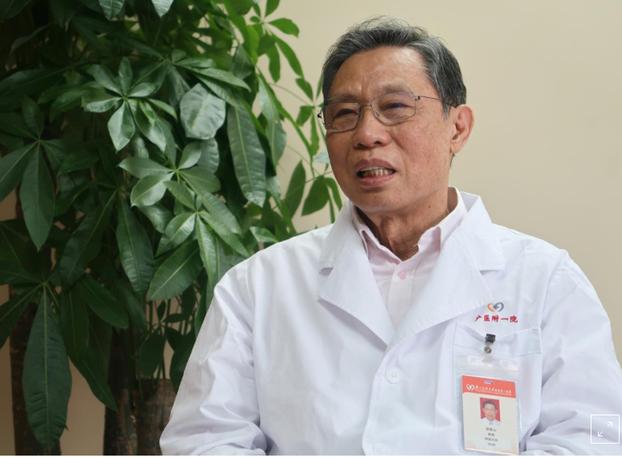 中国传染病专家钟南山。(路透社)
