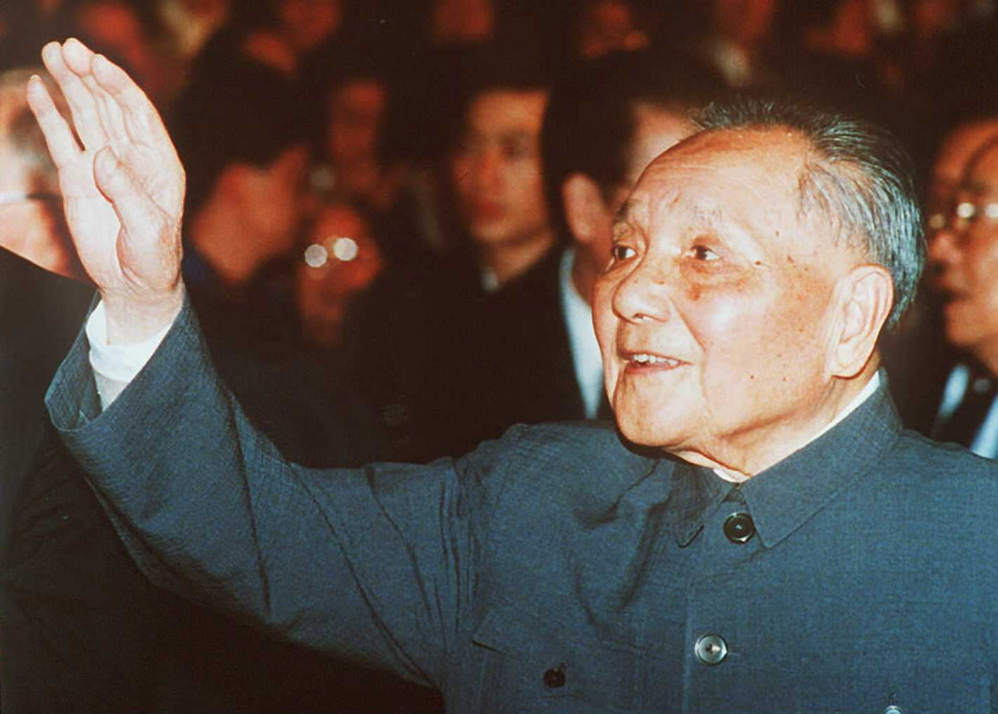 1992年邓小平南巡。(法新社)