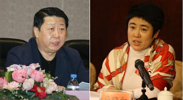 左图:李峰; 右图:马晓红。(public domain)