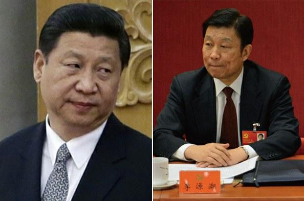 左图:习近平; 右图:李源潮。(AFP)