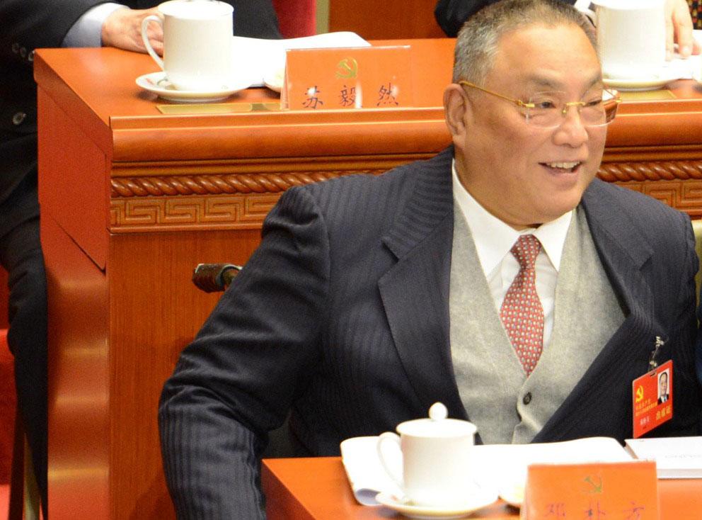 资料图片:邓朴方。(AFP)