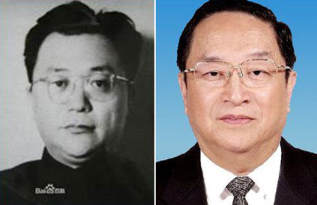 左为俞正声的哥哥俞强声,右为原中央政治局常委俞正声。(图源:百度百科)