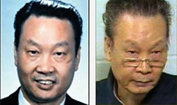 金无怠的中年(左)和老年(禁闻网)