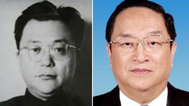 左为叛逃美国的俞强声,右为俞强声之弟、中共政治局前常委俞正声。(图源:百度百科)