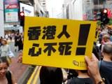 """2019年8月18日,香港再次爆发大规模""""反送中""""集会。这次集会的主要组织者民间人权阵线事后估计,参与集会的人数超过170万。(美联社)"""