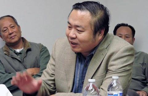 中国战略分析杂志社社长李伟东。(CK摄)